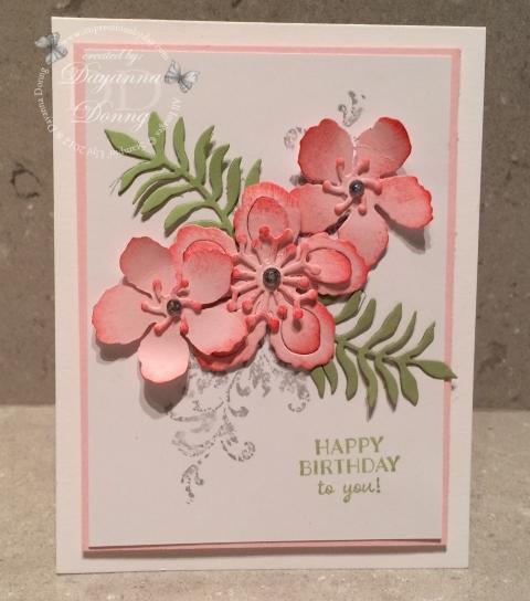 Botanical Blooms Pink